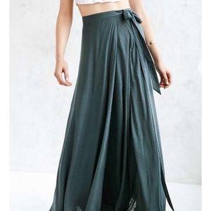 2d7df4d0bf86 Urban Outfitters Skirts   Ecote Zella Boho Wrap Maxi Skirt   Poshmark